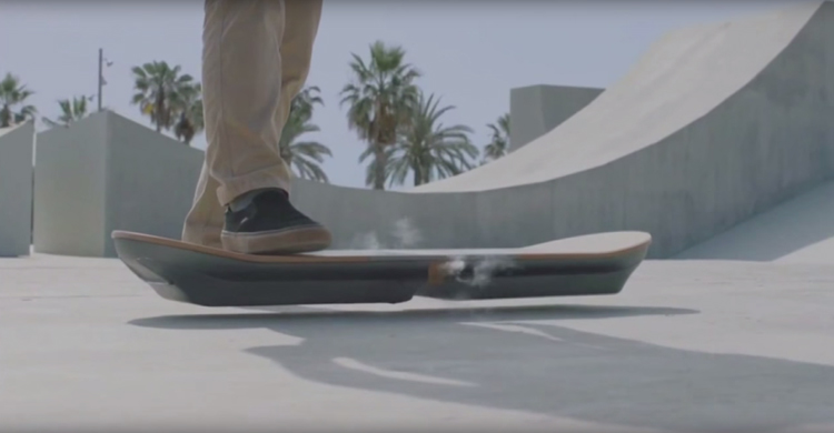 All Your BTTF II Fantasies Of Riding A Hoverboard Have Come